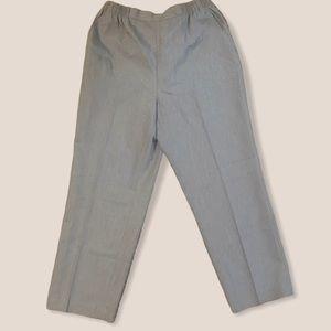 DRAPERS & DAMONS pull on slacks pants 12 petite